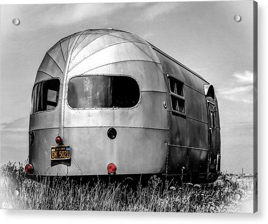 Classic Airstream Caravan Acrylic Print