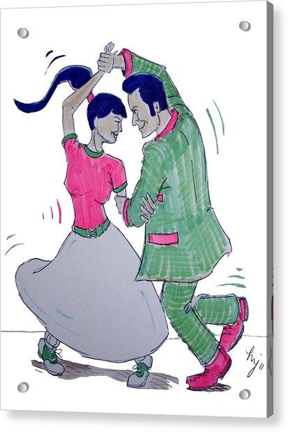 Dance To The Beat Acrylic Print