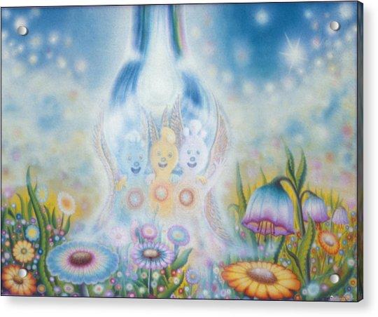 Flower Fairies Acrylic Print
