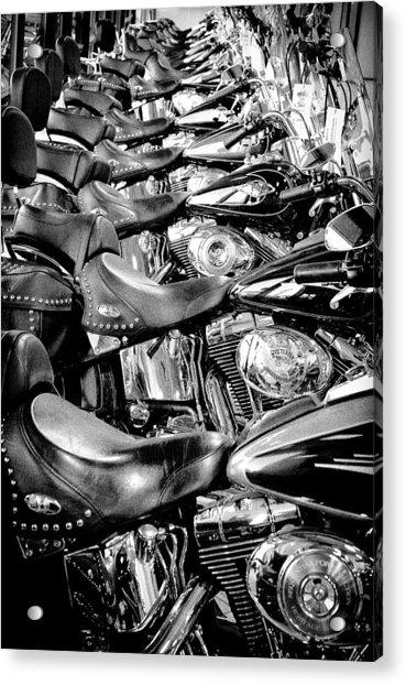 I'll Have A Dozen Harley's To Go Please Acrylic Print