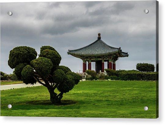 Korean Bell Of Friendship Acrylic Print