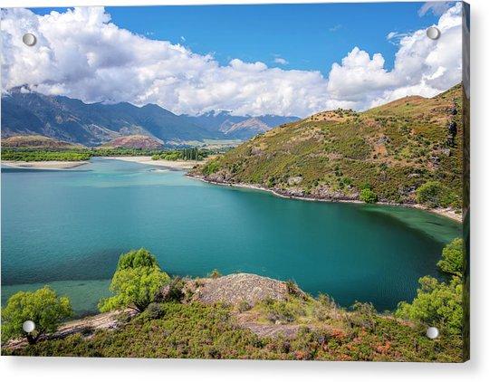 Lake Wanaka New Zealand IIi Acrylic Print