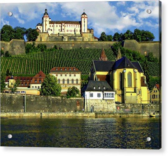 Marienberg Fortress Acrylic Print