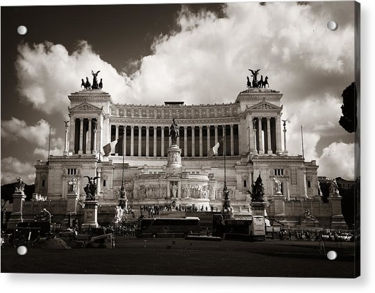 National Monument To Victor Emmanuel II  Acrylic Print by Songquan Deng