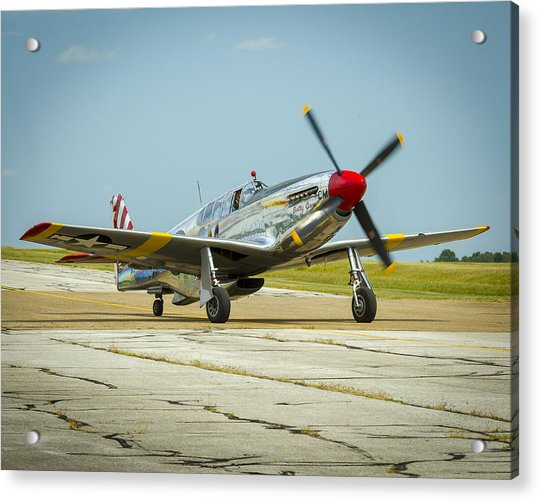 North American Tp-51c Mustang Acrylic Print
