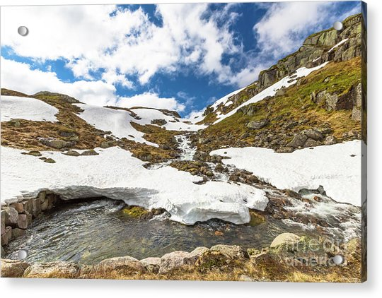 Norway Mountain Landscape Acrylic Print