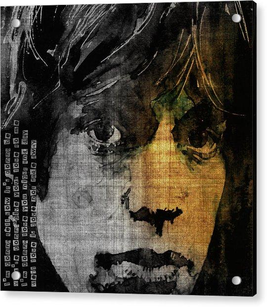 Not Fade Away  Acrylic Print