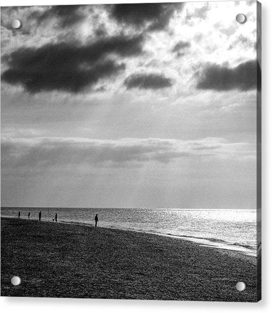 Old Hunstanton Beach, Norfolk Acrylic Print
