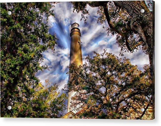 Pensacola Lighthouse Acrylic Print