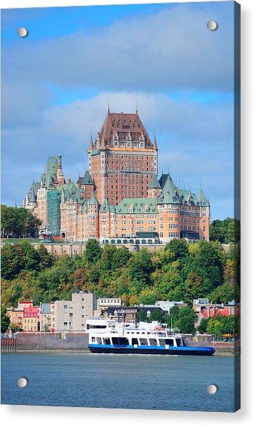 Quebec City Skyline Acrylic Print