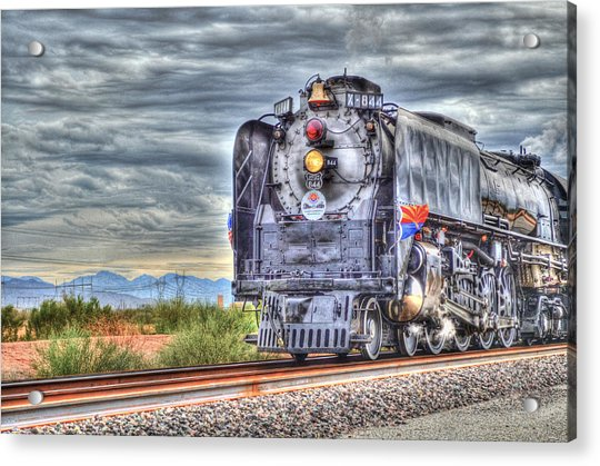 Steam Train No 844 Acrylic Print