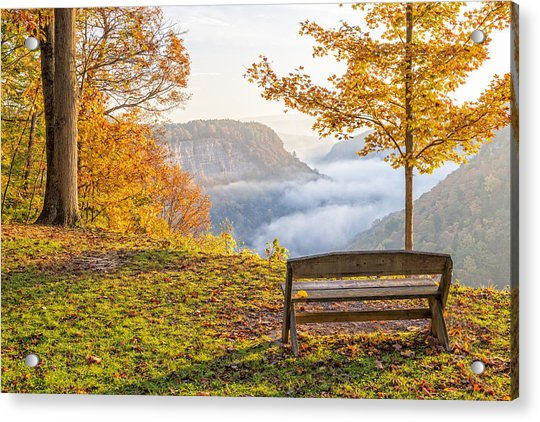 Sunrise At Humphrey's Overlook Acrylic Print