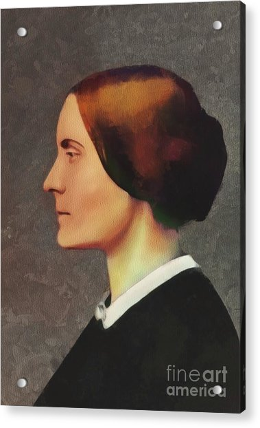 Susan B. Anthony, Suffragette Acrylic Print