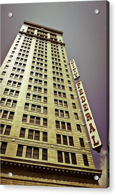 The City Federal Acrylic Print