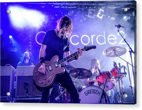 Uk Foo Fighters Live @ Concorde 2 Acrylic Print