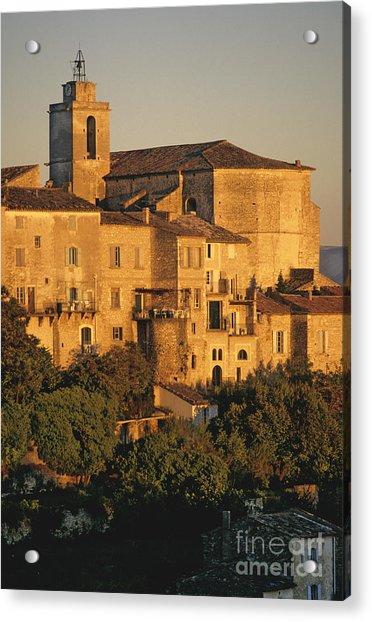 Village De Gordes. Vaucluse. France. Europe Acrylic Print