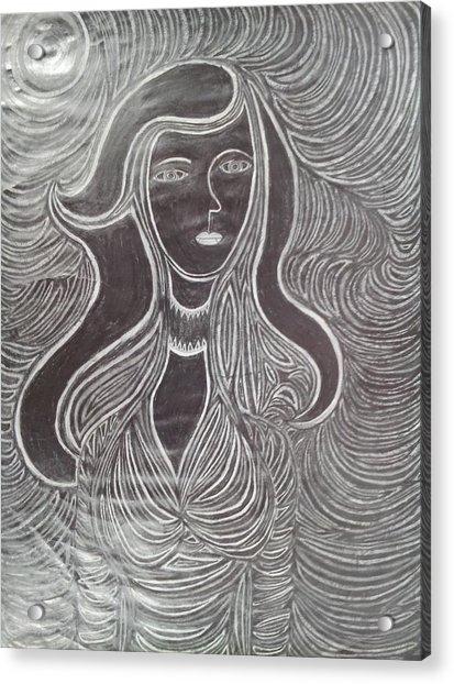 Woman 3 Acrylic Print