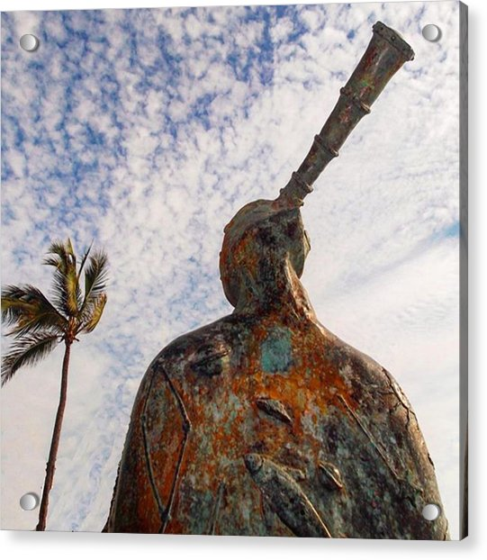 #10yearsoftravel What Do You Think This Acrylic Print by Dante Harker