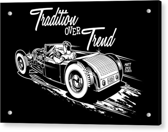 1929 Roadster Design Acrylic Print