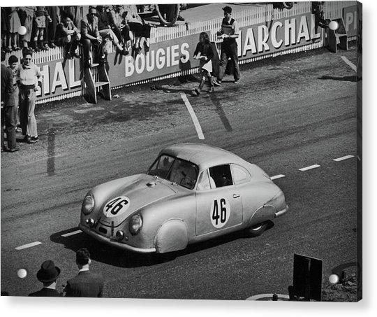 1951 Porsche Winning At Le Mans  Acrylic Print