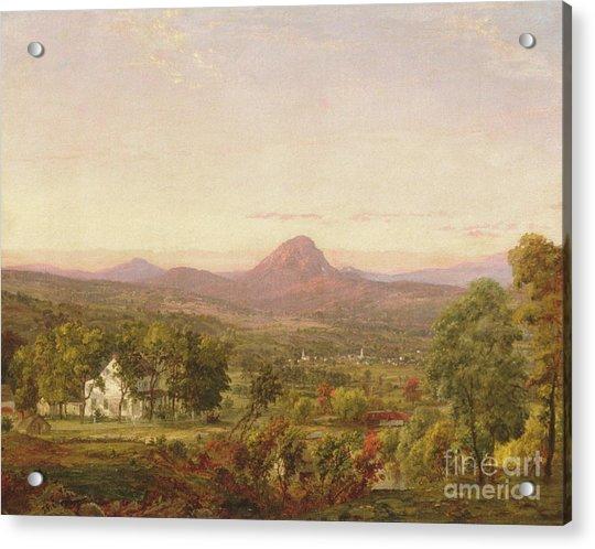 Autumn Landscape, Sugar Loaf Mountain, Orange County, New York Acrylic Print