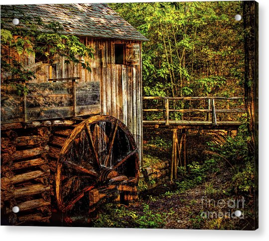 Cades Cove Mill Acrylic Print