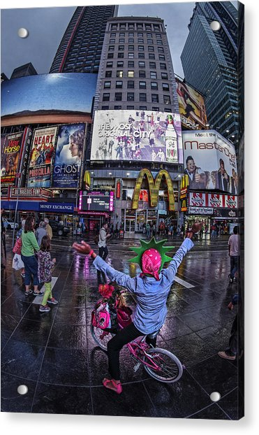 Acrylic Print featuring the photograph New York Soho  by Juergen Held