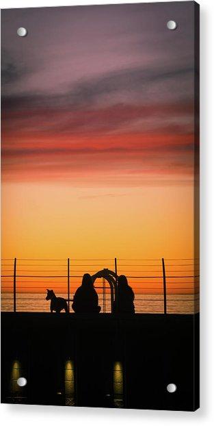 22nd St Sunset Acrylic Print
