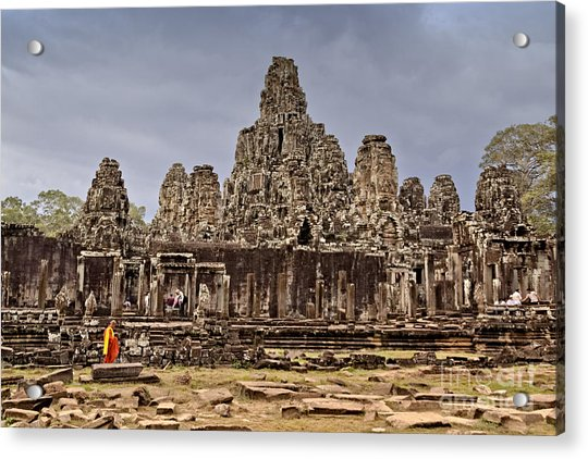 Acrylic Print featuring the photograph Angkor Wat by Juergen Held