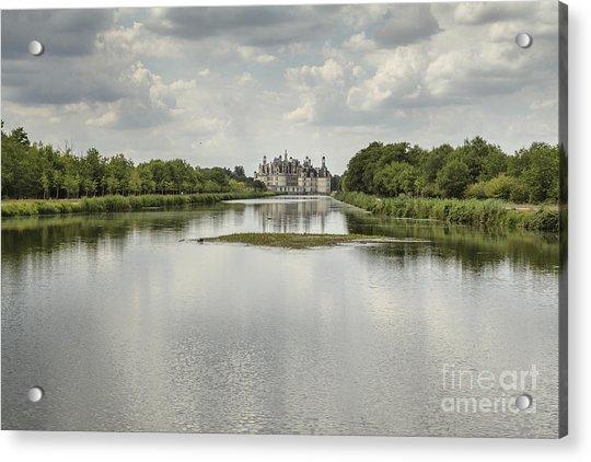 Chambord Castle Acrylic Print by Pier Giorgio Mariani