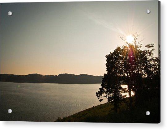 Lake Cumberland Sunset Acrylic Print