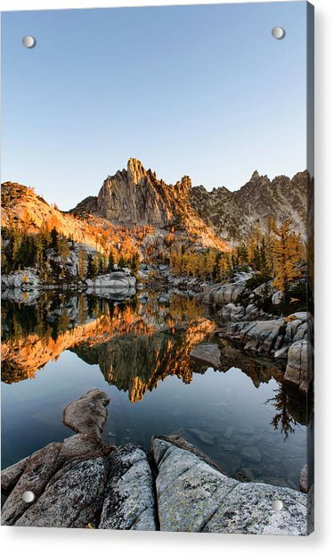 Sunrise In The Enchantments Acrylic Print
