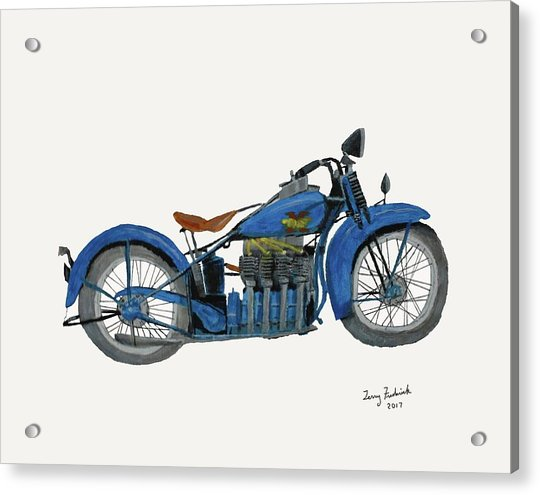 31 Henderson Kj Acrylic Print