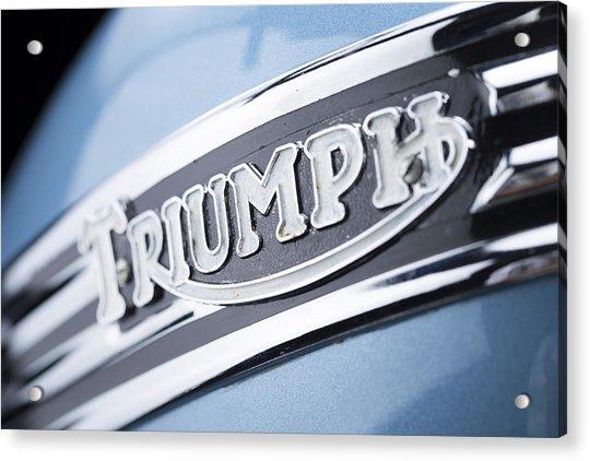 1949 Triumph Trophy Acrylic Print