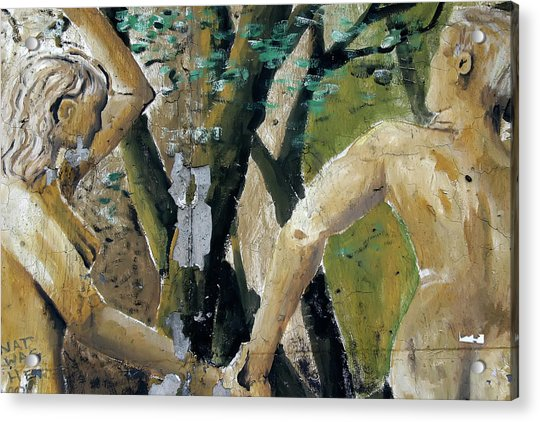 Berlin Wall Mural Acrylic Print