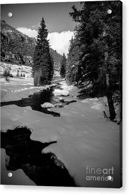 Gore Creek Acrylic Print