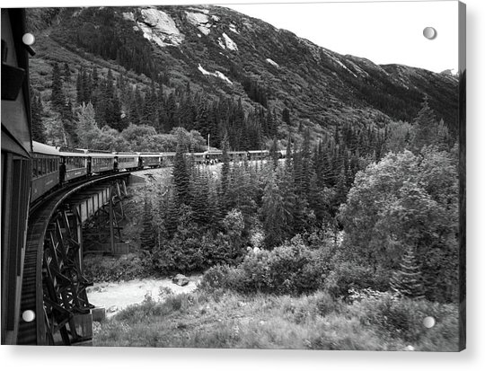 White Pass And Yukon Route Railroad Photograph By William