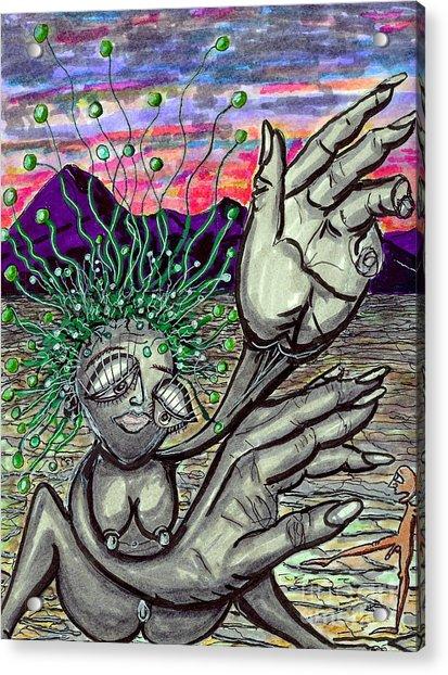 Untitled Acrylic Print by Anthony Masterjoseph