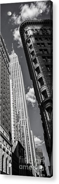 Acrylic Print featuring the photograph New York  by Juergen Held