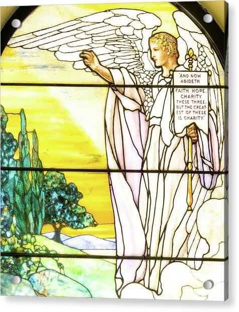 Saint Anne's Windows Acrylic Print