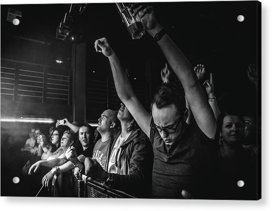 Uk Foo Fighters Live @ Edinburgh Acrylic Print