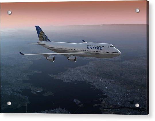 747twilight Acrylic Print