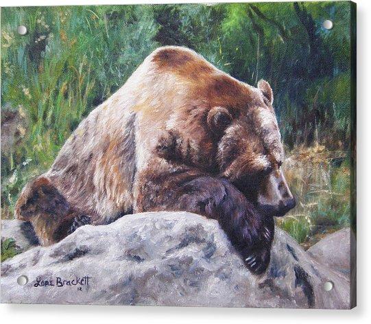 A Bear Of A Prayer Acrylic Print