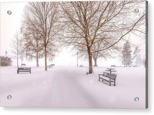 A Beautiful Winter's Morning  Acrylic Print
