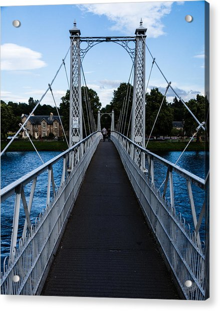 A Bridge For Walking Acrylic Print
