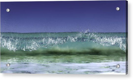 A Clean Break Acrylic Print