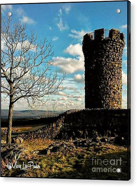 A Day At  Craigs  Castle   Acrylic Print