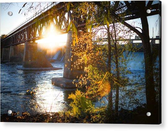 Blanchard Dam - A Favorite Place Acrylic Print