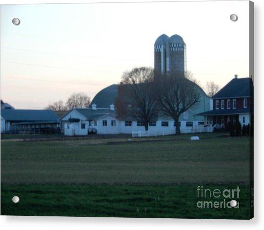 A Glorious Amish Evening Acrylic Print