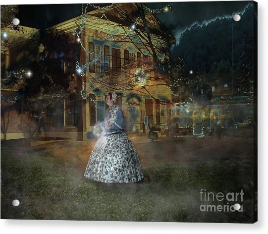 A Haunted Story In Dahlonega Acrylic Print